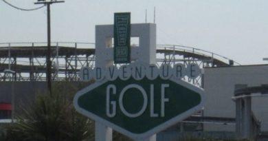 Adventure Golf Blackpool Pleasure Beach