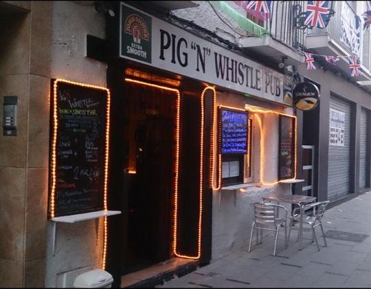Pig n Whistle Pub Benidorm