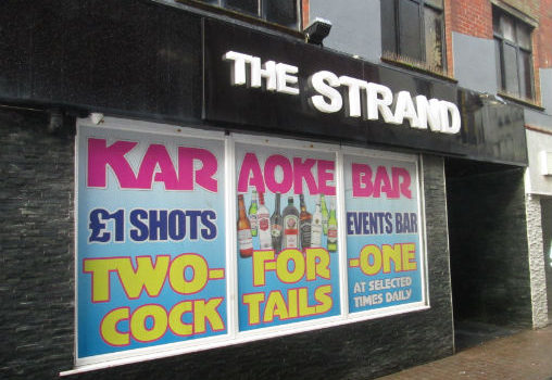 The Strand Bar Blackpool