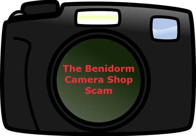 Benidorm Camera Shop Scam