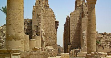 Temples of Karnak Egypt
