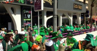 St Patrick's Day Benidorm