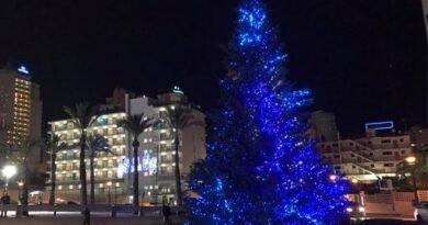 Christmas Day in Benidorm