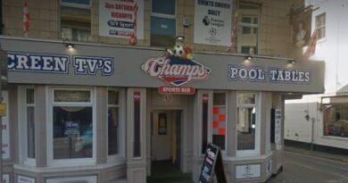Champs Sports Bar Blackpool