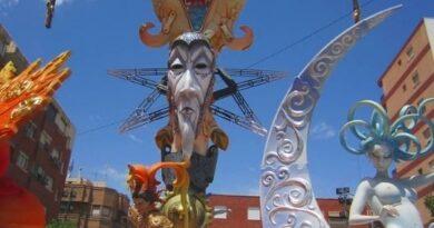 Benidorm Fallas Fiesta