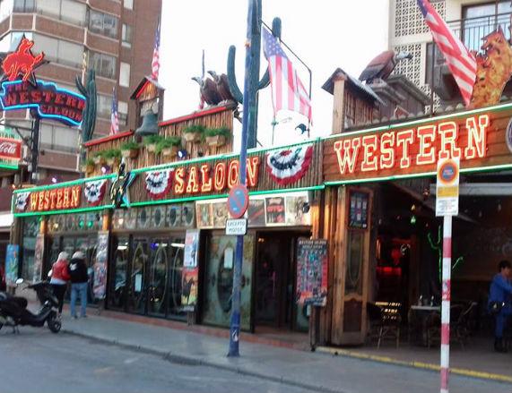 Western Saloon Bar Benidorm