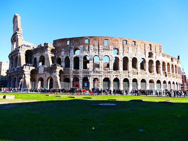 Sightseeing in Rome Italy